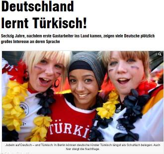 Deutschland lernt tuerkisch1