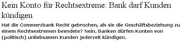 Kein Konto fuer Rechtsextreme1